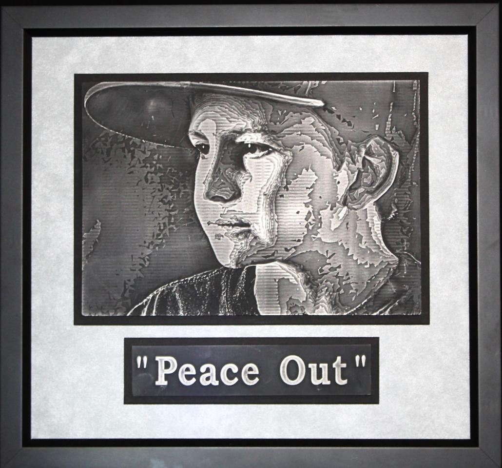 Aristo-Cast Plaque Peace Out